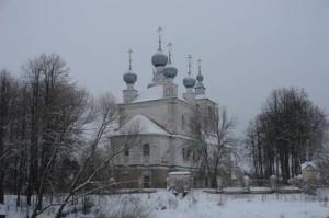 Храм Преображения Господня в селе Поводнево Мышкинского благочиния Рыбинской Епархии