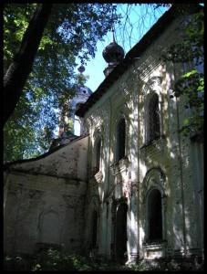 Церковь Тихвинския Божией Матери села Рудиной Слободки